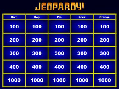 Jeopardy Template Powerpoint With Music